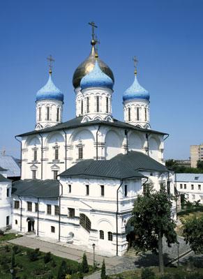 Новоспасский монастырь - Преображенский собор
